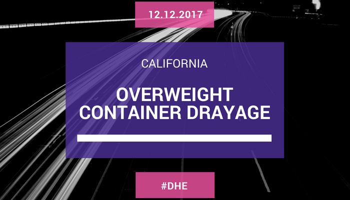 Overweight Container Drayage